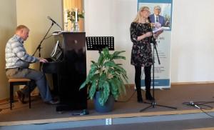 Arnt Thyve og Marianne Juvik Sæbø.